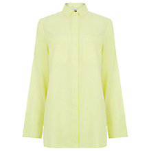 Buy Warehouse Relaxed Pocket Detail Shirt Online at johnlewis.com