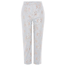 Buy Coast Halle Lace Trousers, Pale Blue Online at johnlewis.com