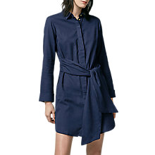 Buy Warehouse Belted Shirt Dress Online at johnlewis.com
