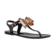 Buy Ted Baker Ainda Bow Toe Post Sandals Online at johnlewis.com