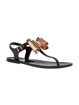Ted Baker Ainda Bow Toe Post Sandals At John Lewis Amp Partners