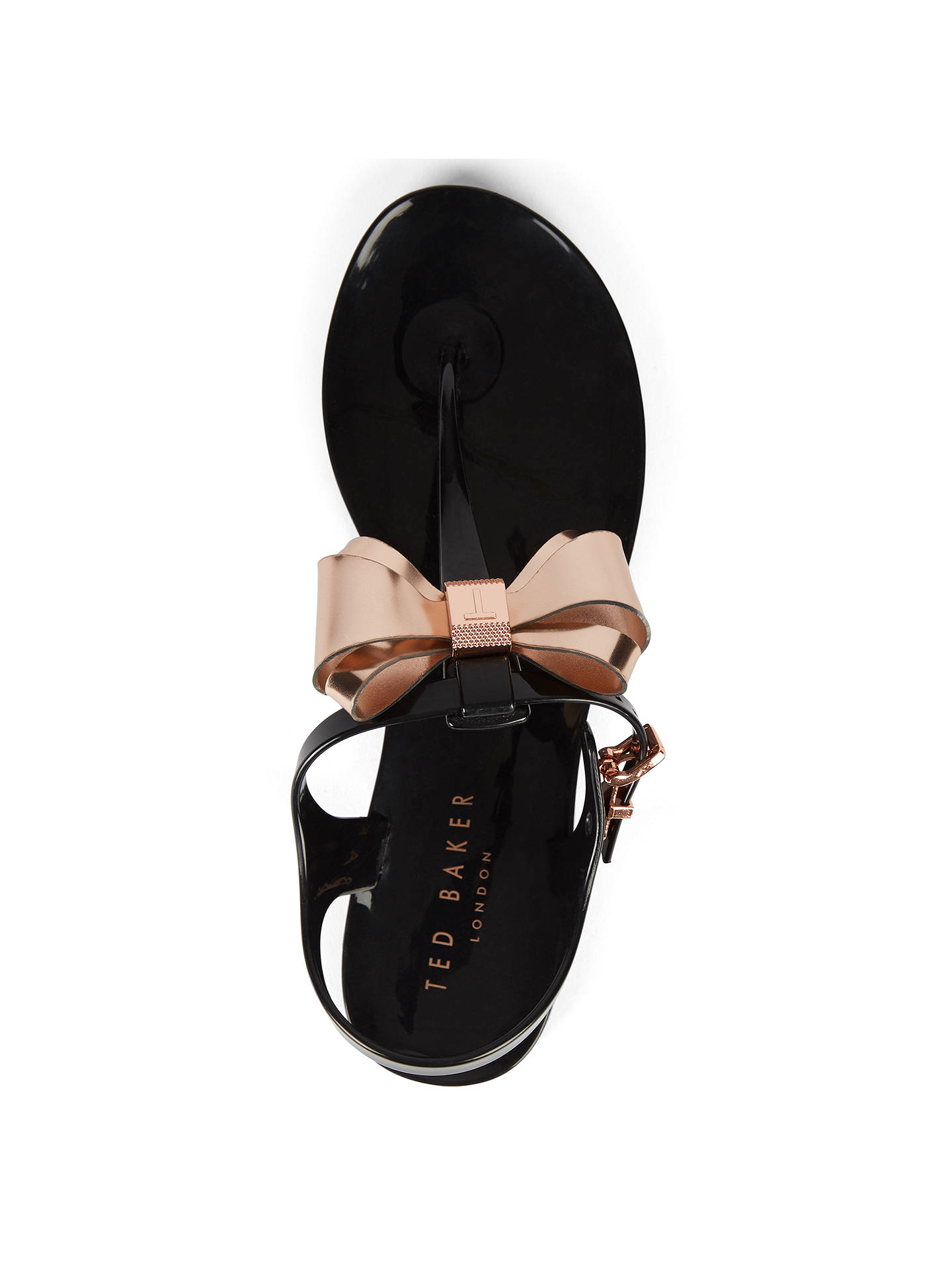 8d2a4be2d Ted Baker Ainda Bow Toe Post Sandals at John Lewis   Partners