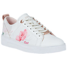 Buy Ted Baker Orulo Sketchbook Trainers, Multi Online at johnlewis.com