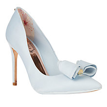 Buy Ted Baker Tie the Knot Azeline Bow Stiletto Heeled Court Shoes Online at johnlewis.com