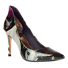Buy Ted Baker Savei Entangled Enchantment Pointed Toe Court Shoes, Multi Online at johnlewis.com