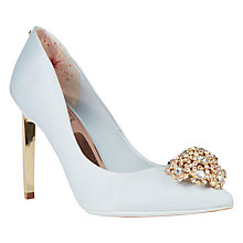 Buy Ted Baker Tie the Knot Peetch Court Shoes Online at johnlewis.com