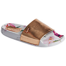 Buy Ted Baker Armeana Sketchbook Flat Sandals, Multi Online at johnlewis.com