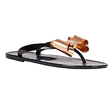 Buy Ted Baker Rueday Entangled Enchantment Flip Flops, Multi Online at johnlewis.com