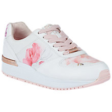 Buy Ted Baker Esmay Sketchbook Trainers, Multi Online at johnlewis.com