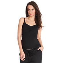 Buy Séraphine Lilli Secret Maternity Support Top, Black Online at johnlewis.com
