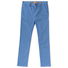 Buy BOSS Orange Schino-Slim 1-D Slim Fit Chinos, Open Blue Online at johnlewis.com