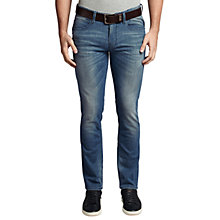 Buy BOSS Orange Orange63 Slim Fit Jeans, Bright Blue Online at johnlewis.com