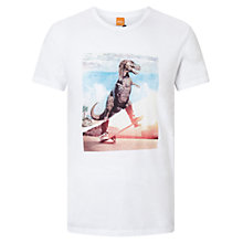 Buy BOSS Orange Tintype 4 Skating Dinosaur T-Shirt Online at johnlewis.com