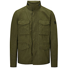Buy BOSS Orange Odean-W Field Jacket, Dark Green Online at johnlewis.com