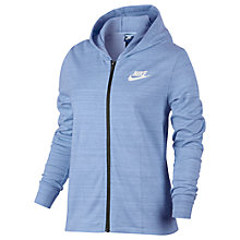 Buy Nike Sportswear Advance 15 Jacket, Aluminum/White Online at johnlewis.com