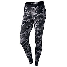 Buy Nike Sportswear Leggings, Black/White Online at johnlewis.com