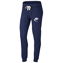 Buy Nike NSW Cotton Tracksuit Bottoms, Blue Online at johnlewis.com