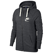 Buy Nike Sportswear Hoodie, Black Online at johnlewis.com