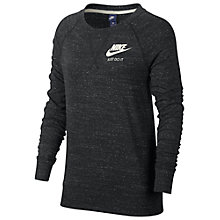 Buy Nike NSW Crew Neck T-Shirt, Black Online at johnlewis.com