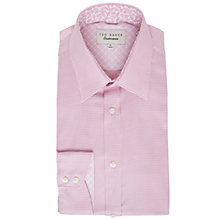 Buy Ted Baker Quame Mini Chevron Tailored Fit Shirt Online at johnlewis.com