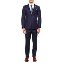 Buy Ted Baker Chalkyj Wool Birdseye Tailored Suit Jacket, Dark Blue Online at johnlewis.com