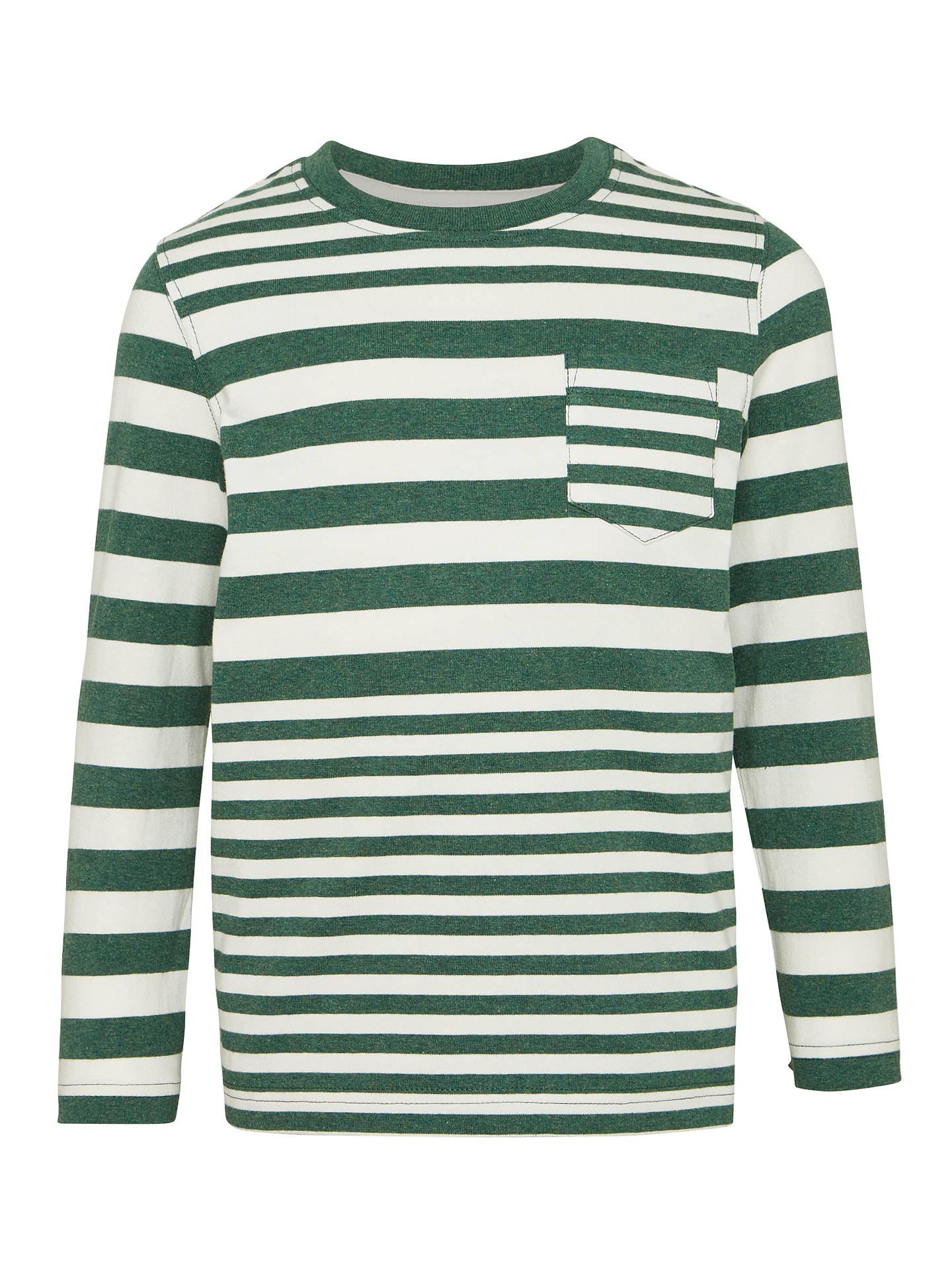 f420d304255b21 John Lewis Boys  Variegated Stripe T-Shirt at John Lewis   Partners