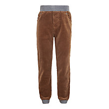 Buy John Lewis Boys' Corduroy Pull On Trousers Online at johnlewis.com