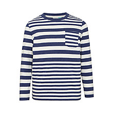 Buy John Lewis Boys' Variegated Stripe T-Shirt Online at johnlewis.com