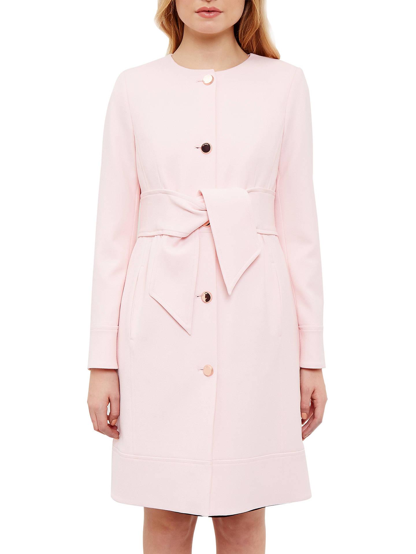 4b78aafa6 Buy Ted Baker Ceally Collarless Belted Coat