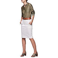 Buy Gerard Darel Jay Cotton Pencil Skirt Online at johnlewis.com