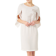 Buy Jacques Vert Embroidered Tunic Dress, Neutral Online at johnlewis.com