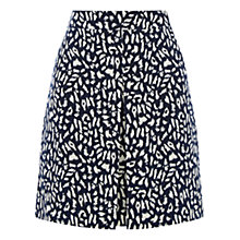 Buy Warehouse Animal Printed Skirt, Multi Online at johnlewis.com