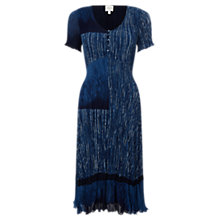 Buy East Lucille Print Dress, Nightshade Online at johnlewis.com