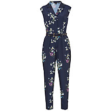 Buy Ted Baker Ficia Entangled Enchantment Jumpsuit, Dark Blue Online at johnlewis.com