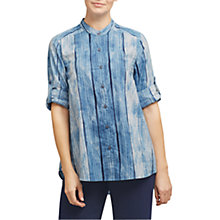 Buy East Shibori Pocket Shirt, Indigo Online at johnlewis.com