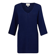 Buy East Square Ribbed Jumper, Ensign Online at johnlewis.com