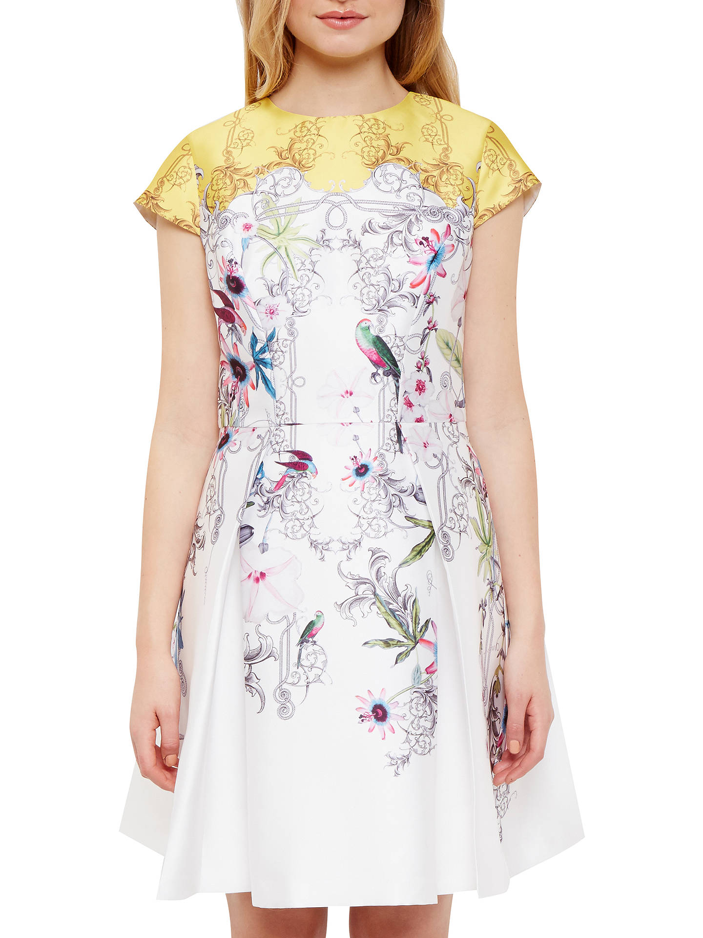 39d1a3cb974 Buy Ted Baker Reliat Passion Flower Skater Dress