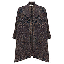 Buy East Concerto Wool Swing Coat, Multi Online at johnlewis.com