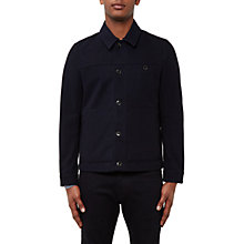 Buy Ted Baker Huey Wool Blend Jacket, Navy Online at johnlewis.com