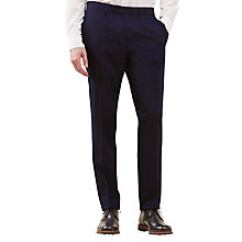Buy Jigsaw Ottoman Woven in Italy Slim Suit Trousers, Navy Online at johnlewis.com