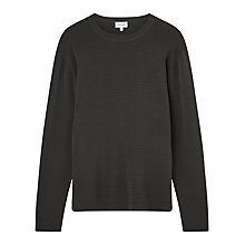 Buy Jigsaw Ottoman Fine Gauge Crew Neck Jumper Online at johnlewis.com