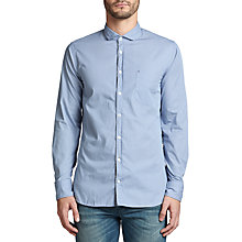 Buy BOSS Orange Cattitude Slim Fit Shirt, Open Blue Online at johnlewis.com