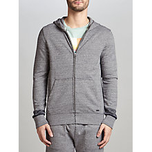 Buy BOSS Orange Zappa Tracksuit Hoodie, Light Pastel Grey Online at johnlewis.com