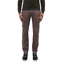 Buy Ted Baker Exmoor Micro Print Slim Fit Trousers, Grey Online at johnlewis.com