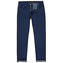 Buy Ted Baker Side Straight Jeans, Rinse Denim Online at johnlewis.com