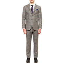 Buy Ted Baker Hemplej Tailored Fit Check Suit Jacket, Grey Online at johnlewis.com