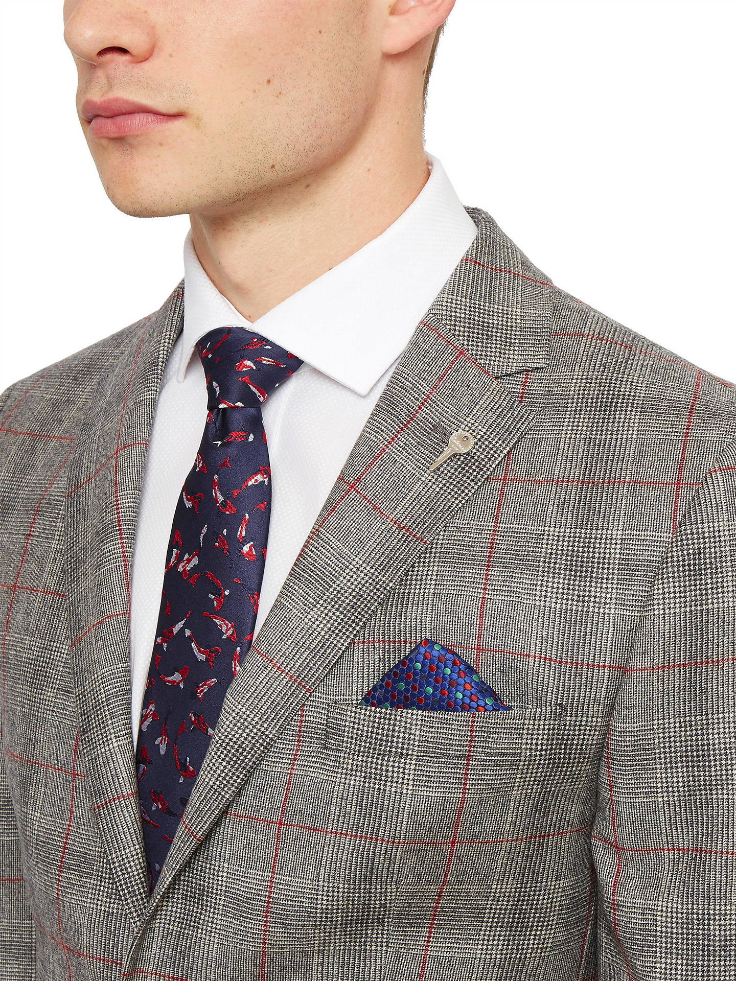 99a644d9d357d ... Buy Ted Baker Hemplej Tailored Fit Check Suit Jacket