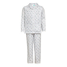 Buy John Lewis Girls' Floral Bee Print Pyjamas Online at johnlewis.com