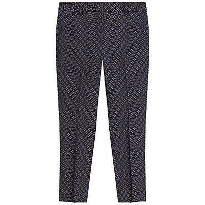 Gerard Darel Penny Trousers, Navy Blue