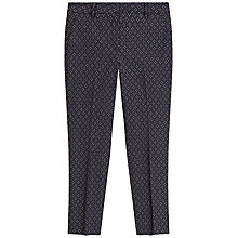 Buy Gerard Darel Penny Trousers, Navy Blue Online at johnlewis.com